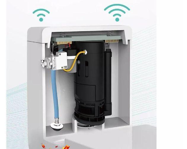航标卫浴推出挥手感应坐便器,高效漩涡冲水系统 强劲稳定运输机